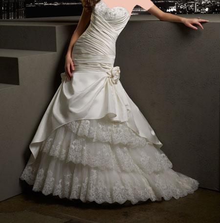 شیک ترین لباس عروس 2014
