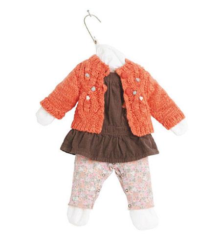 مدل لباس نوزادی ۳pommes