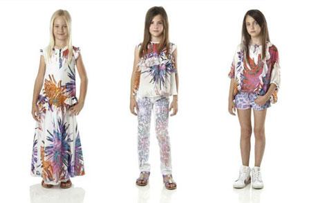 لباس های دخترانه Roberto Cavalli پائیز 2014