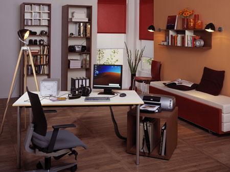 دکوراسیون داخلی اتاق کار 2014