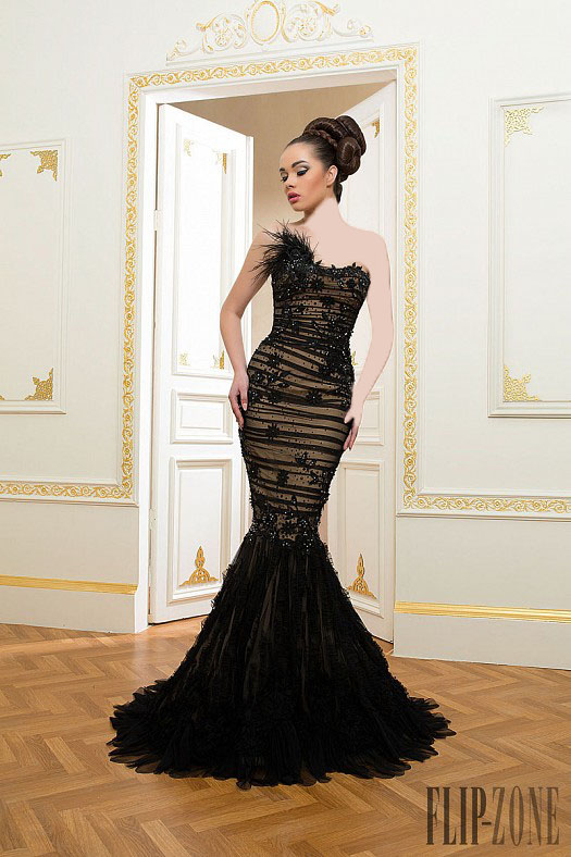 مدل لباس شب مشکی