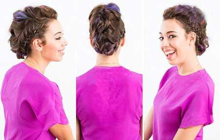 8 روش جالب برای بافتن موها